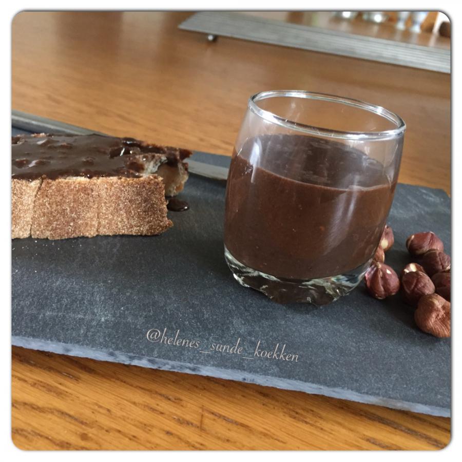 Hjemmelavet sukkerfri protein nutella;-)