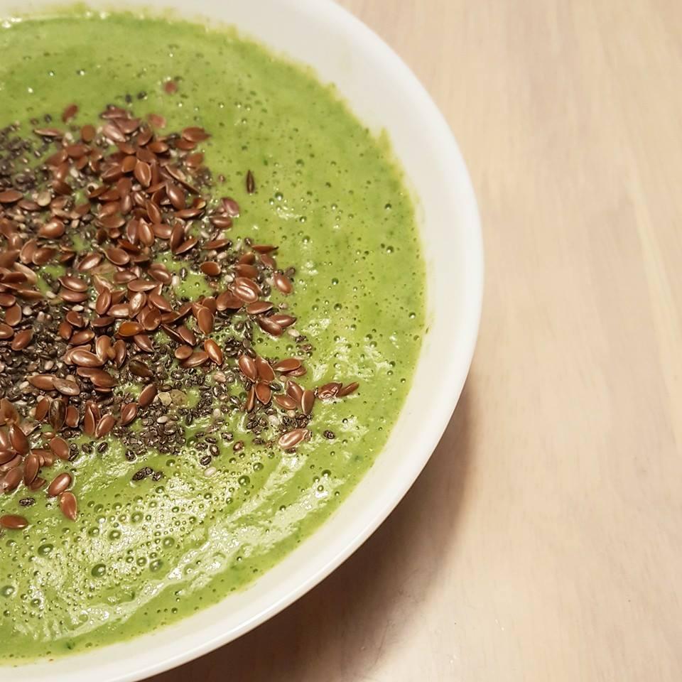 Fitnesspigens grønne suppe