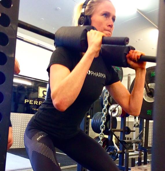 Fitnesspigen Rikke Hansen
