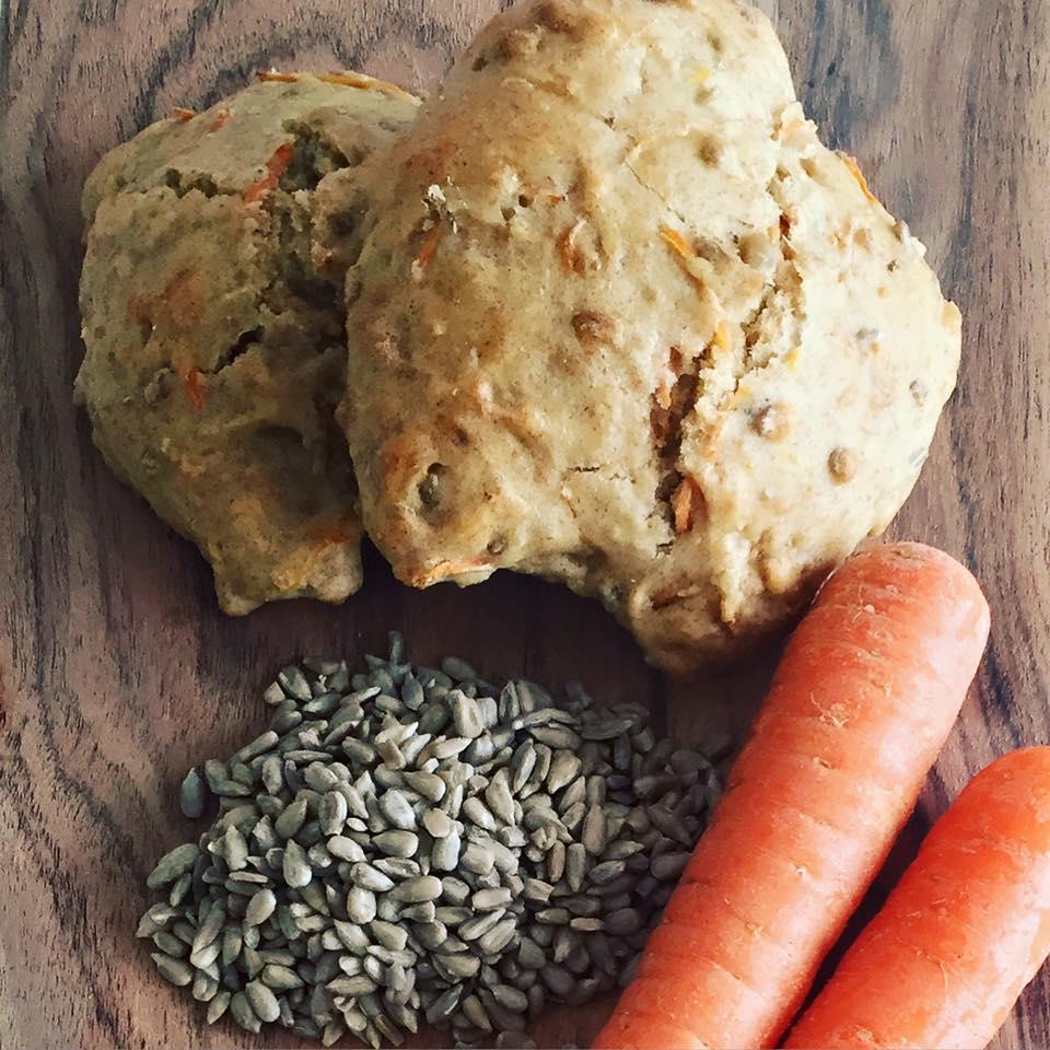 Gulerodsbrød – lækre og sprøde;-)