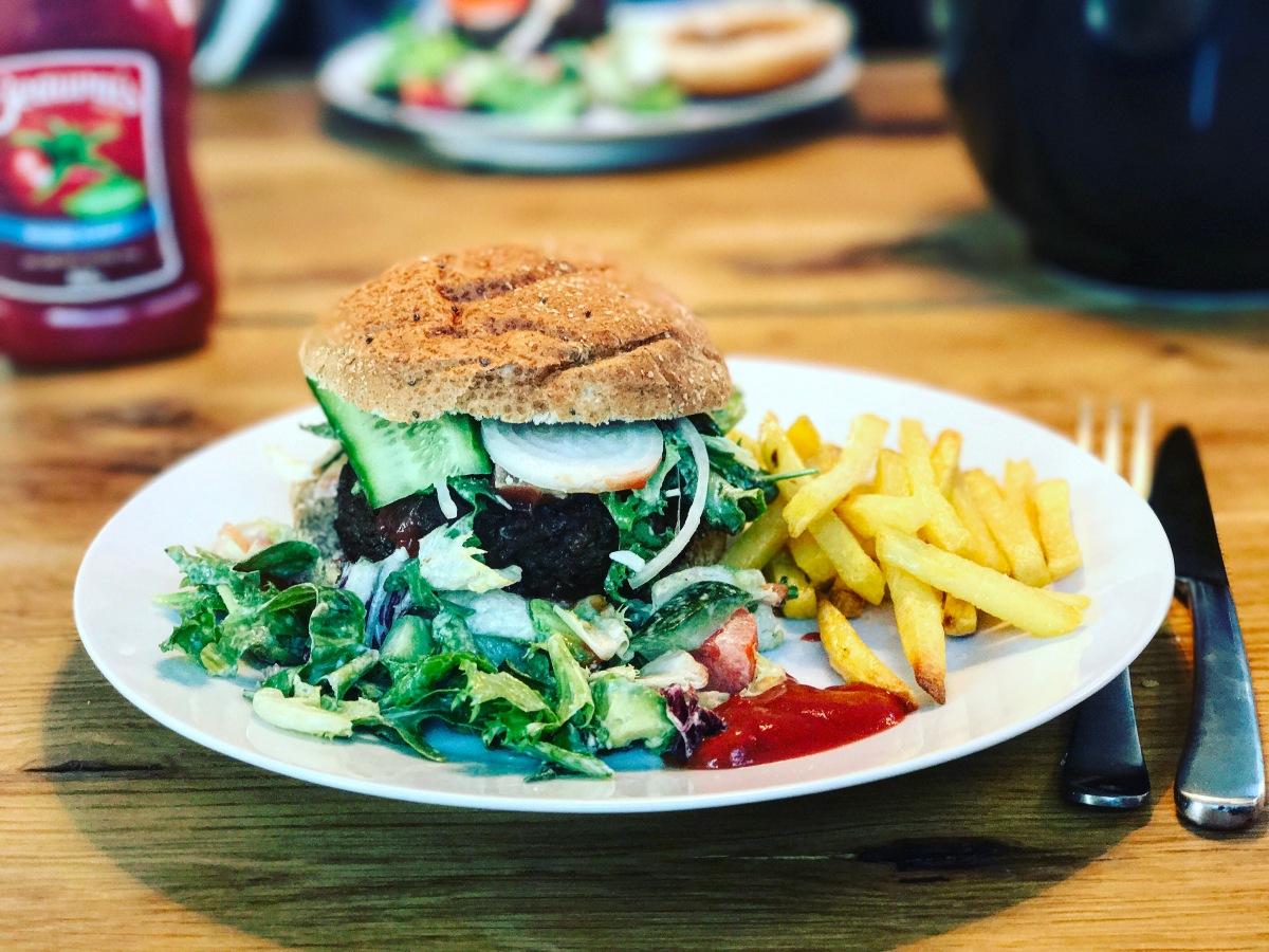 Homemade ØKO burger