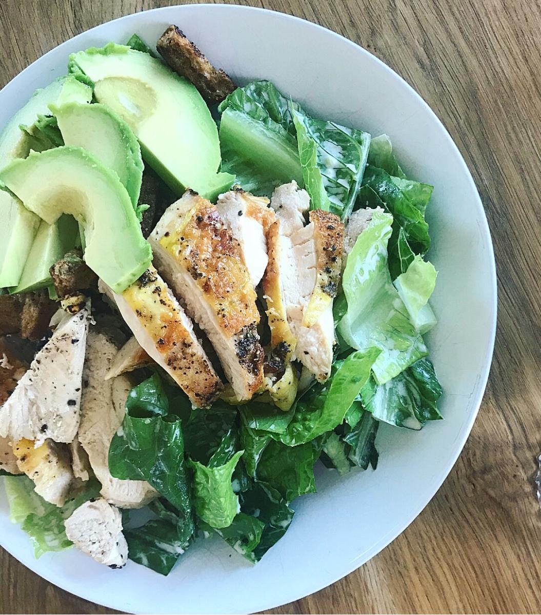 Cæsarsalat opskrift med kylling
